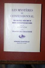 Les Mystères Du Confessionnal, Manuel Secret Des Confesseurs - La clé d'or