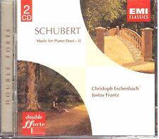 Schubert: Musica Per Pianoforte a 4 Mani Vol. II / Justu Frantz, Escenbach - CD