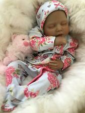 "CHERISH DOLLS ANYA FULLY REBORNED BABY FAKE BABIES REALISTIC 22"" BIG REBORN GIRL"