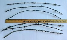 Antique Barbed Wire - Six Pieces - Approximately 18