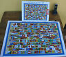 "Jigsaw Puzzle 1000 pieces. ""Flags Of The World"" by Educa"