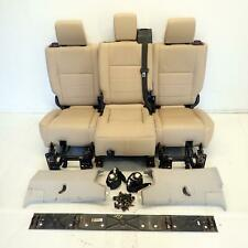 Seats 2Nd Row Leather With Fittings (Ref.1039) Land Rover Discovery 3 2.7 TDV6