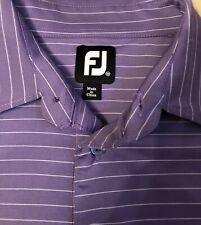 Foot Joy Polo Shirt Golf Men's Short Sleeve Size Medium