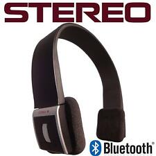 Universal Bluetooth Stereo Headset BH002 w/ Free Wall and Car Charger