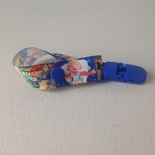Dummy Pacifier Clip Saver Handmade ~ Bob The Builder ~ Australian Standards