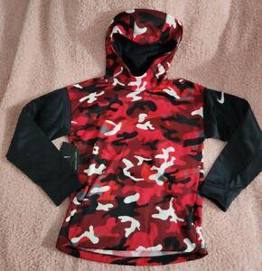 Nike BV3787-657 for Boys Size Large Red / Black Beautiful Jacket