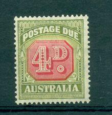 Figures-numbers Australia 1946/1957 Postage Two 4d