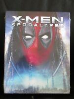X-Men Apocalypse Deadpool Photobomb Blu-Ray Slip Cover Walmart Exclusive New