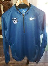 Nike Golf Dri-Fit Creighton Bluejays 1/2 Zip Shirt Long Sleeve Men's Size M