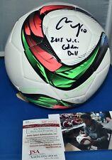 af992d20f7e38e CARLI LLOYD 2015 AUTOGRAPHED AND INSCRIBED WORLD CUP REPLICA SOCCER BALL JSA