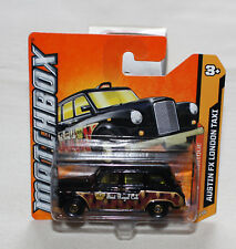 2012 Matchbox MBX Classique 65/120 Austin FX London Taxi Black New Short Card
