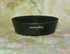 MINOLTA 55mm SCREW IN METAL LENS HOOD FOR MC 35mm F1.8 LENS MADE IN JAPAN