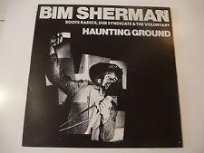 "LP DISCO Bim Sherman "" Haunting terreno "" Adrian Sherwood, DR Pablo, Deadley"