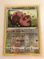 152/192 Greedent | Rare Reverse Holo Card | Pokemon Sword & Shield Rebel Clash