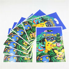 10pcs/Set Pikachu Paper Pokemon Birthday Party Wedding Favor Gift Bags Supplies