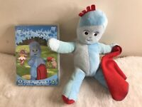 In The Night Garden - Igglepiggle Talking Blanket Time Soft Toy Plus DVD