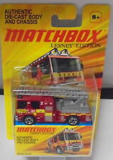 MJ7 Matchbox - 2011 Lesney Dennis Sabre Fire Truck - Red