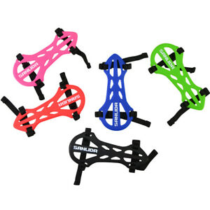 Archery Arm Guard Forearm Straps Soft Rubber Protective Gear Bow Hunting