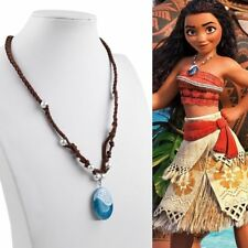 Moana Princess Charm Necklace Pendant Prop Costume Cosplay Fancy Dress Jewellery