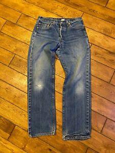 Mens 33 Jeans Levi Strauss 501 XX 33 / 34 LEVIS VINTAGE BUTTONFLY JEANS