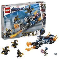 LEGO Super Heroes Captain America et l'attaque des Outriders 76123