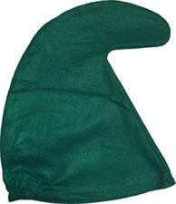 GREEN Garden Gnome Hat Seven 7 Dwarves Smurf Smurfette Curley Hat Fancy Dress