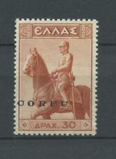 OCCUPAZIONI CORFU 1941 MONUMENTO 30d **  CERT.
