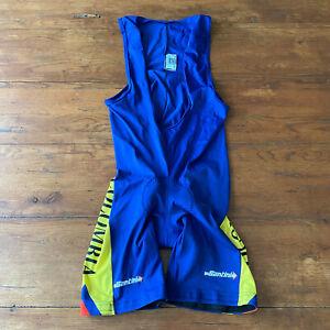 SMS Santini Mens XL Cycling Bibshorts Columbia Compression Shorts Bib 50