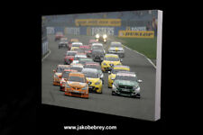 BTCC 2006 Silverstone Race Start Motorsport Art Canvas