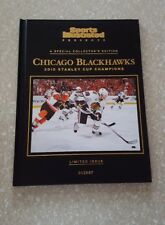 2010 Sports Illustrated Stanley Cup Champion CHICAGO BLACKHAWKS Limited Edition