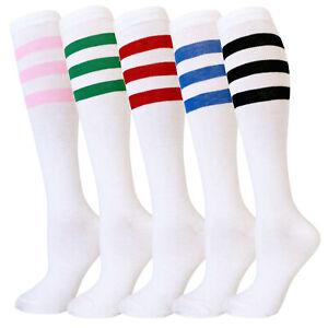 Women Fashion Tube Colorful Patterned Knee High Socks Warm Stocking Leg Warmer