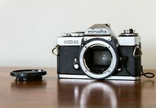 Minolta XD-11 Body 35mm SLR w/ Data Back - For Repair - Broken Winding Spool