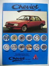 1983 CHEVIOT WHEELS FEATURING VH SS COMMODORE COLOUR MAGAZINE ADVERTISEMENT