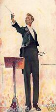 Director de orquesta son impresiones artísticas 1925 Cuno Amiet Solothurn kontzert frac batuta oschwand