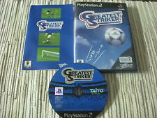 GREATEST STRIKER DE TAITO PLAYSTATION 2 PS 2 JAPONES USADO BUEN ESTADO