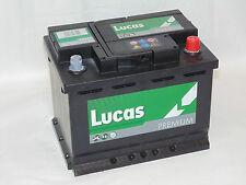 Lucas LP027 (560 408 054) Car Battery TYPE 027 - 12V 60AH 540CCA - 4 Yrs Wrnty