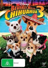 Beverly Hills Chihuahua 3: Viva la Fiesta!  - DVD - very good condition Region 4