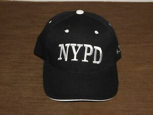 POLICE BASEBALL CAP HAT NEW YORK CITY POLICE DEPT NYPD 911  NEW UNUSED
