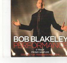 (FX7)  Bob Blakeley, Perforrmance (Album Sampler) - 2014 DJ CD