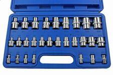 Steckschlüssel Satz Set Nuss-Kasten Nüsse Kfz Werkzeug für Torx 1/4 3/8 1/2 28