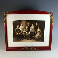 Art Nouveau Photo Frame with Picture B