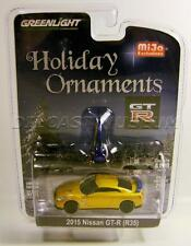 2015 '15 NISSAN GTR R35 CHASE CAR HOLIDAY ORNAMENTS XMAS MIJO 2016 GREENLIGHT