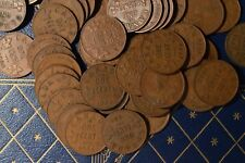 Circulated Roll of 1934 King V pennies - Rare