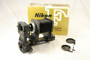 Nikon Bellows unit PB-6 with slide copying adapter