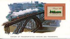 HISTORY OF TRANSPORTATION / HISTOIRE DES TRANSPORTS / LA LOCOMOTIVE A VAPEUR