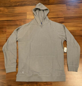 NEW Johnnie-O Men's Hensley Soft Fleece Hoodie Hoody JMKO2460 Large L Grey