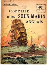 COLLECTION PATRIE 83 L'ODYSSEE D'UN SOUS-MARIN ANGLAIS