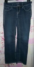 """""""SILVER JEANS"""" Womens Jeans, Aiko Bootcut Style, Size 27"""" x 31"""", Great Shape"""