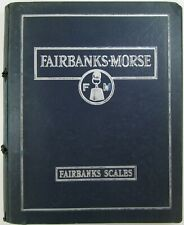 Vintage Fairbanks Morse Scale Catalog Reference Commercial Train Cotton Barrel