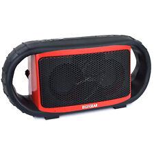 ECOXGEAR ECOXBT Waterproof Bluetooth Wireless Rechargeable Speaker - Red